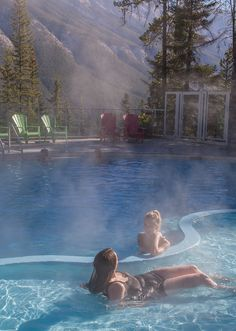 The Canadian Rockies Hot Springs   Packages   Banff