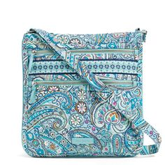 02e4862f516 Image of Iconic Triple Zip Hipster in Daisy Dot Paisley Quilted Tote Bags,  Sewing Hacks. Vera Bradley