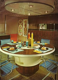 'Architectural Digest', 1970's - Groovy Pad. Not mid century, late sixties, but still really cool