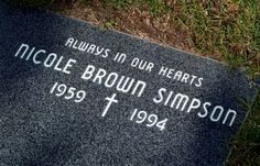 June 12, 1994. O.J. Simpson's ex-wife Nicole Brown Simpson and her friend Ronald Goldman are slashed to death outside her Los Angeles home. (Simpson spent 9 months in 1995 being tried for the killings in Los Angeles  court. He was acquitted in October.)