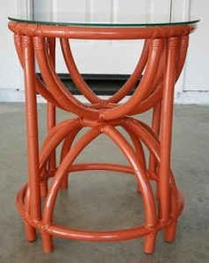 SF Scavenger: 1950u0027s Vintage Rattan/Bamboo Side Table For $100