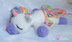 pony unicornio ganchillo amigurumi