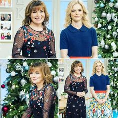 @lorrainekellysmith's stunning dress with floral detail is proving to be a big hit with our viewers this morning! Find style details at itv.com/lorraine #LorraineKelly #style #fashion