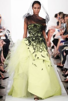 Oscar De La Renta Fashion | Oscar de la Renta RTW Spring Summer 2014 New York Fashion Week