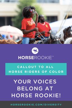 Horse Rookie helps equestrians of all levels (especially rookies) answer common questions, make informed decisions, and have more fun with their horses.   Check out our guest post process -- and we'll donate to The Humble Project for every article authored by an equestrian of color!  #equestriansofcolor #equestriandiversity #blackequestrians #blacklivesmatter #thehumbleproject #horserookie Your Voice, Horseback Riding, More Fun, Equestrian, All About Time, Knowledge, Author, Horses, Group