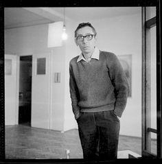 Stanisław Fijałkowski, 1964, Łódź, fot. Tadeusz Rolke / Agencja Gazeta