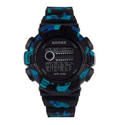 MosunxTMMens Waterproof LED Digital Date Alarm Rubber Band Military Sport Watch Black *** You can find out more details at the link of the image.(It is Amazon affiliate link) #washington