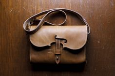 Violin themed bag, completed | Jacobson Leather