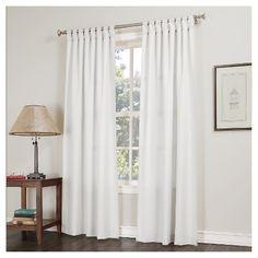 No. 918 Joshua Casual Tab-Top Curtain Panel : Target