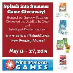 Splash Into Summer Giveaway!
