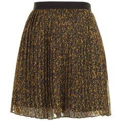 Mustard Natasha Skirt ($74) ❤ liked on Polyvore