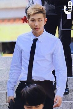 Hello namjoon looks good as fuck in this outfit