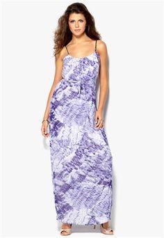 dbd500f1b756 VILA Efori Long Dress Eclectic Blue Bubbleroom.no