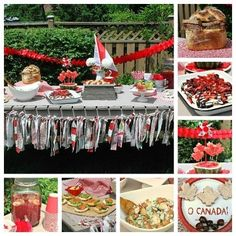 Lots of ideas for a Canada Day Party from SavvyMom Happy Birthday Canada, Happy Canada Day, Canada Day Party, Canadian Holidays, Diy Party, Party Ideas, Canada 150, Holiday Fun, Holiday Ideas