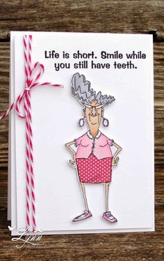 Art Impressions: Eunice .... Golden Oldies ... Handmade card.