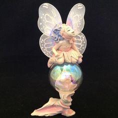 RARE 1989 Rawcliffe Jessica De Stefano Bubble Fairies Bliss Figurine In Box