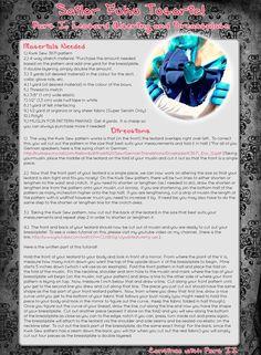 Sailor Fuku Tutorial Part I by *EuphoriaLuandestil on deviantART
