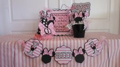 1st Birthday Party Package  Minnie Mouse with by ASweetCelebration
