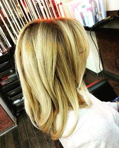 #blondie #balayage #happywomen