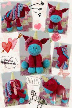 Einhorn * gehäkelt * unicorn * girl * Amigurumi * crochet * https:// www.facebook.com / fraeuleinwollwunder