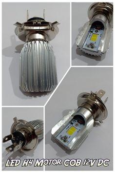 Lampu motor H4 LED 12V DC warna putih 6000K. Cari lampu motor LED di Surabaya cek toko online Takekimurah. Order online bisa melalui marketplace Tokopedia, Shopee, dan Bukalapak. Led