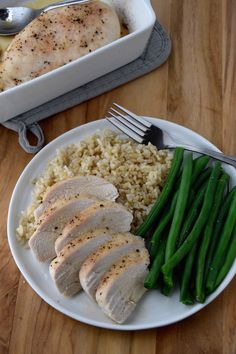 Make this Garlic Baked Chicken to top meals this week - it's a simple, delicious dish.   uprootkitchen.com