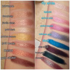 MAC Pigments - need to get some!