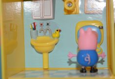 Peppa Pig Classic Playsets Review - so you too can wonder whether George Pig is toilet trained yet