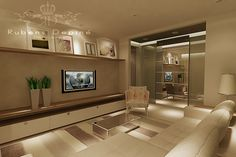 Michelli Lucas - Designer de Interiores: Referências de Salas de TV