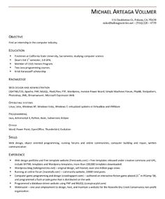 1000 images about resume sles on