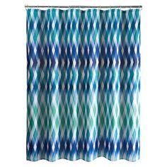 Relativity Shower Curtain - Blue