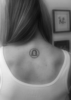 my libra tattoo- if I ever get a libra tattoo, it'd look like this..