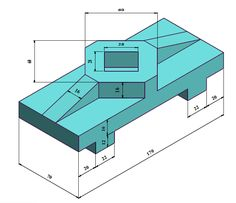 3d Drawings, Engineering, Cad 3d, Drawing Techniques, Drawing Drawing, Technology