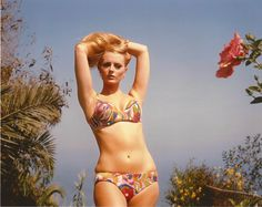Celeste Yarnall at the Cannes Film Festival 1967. Voted most photogenic beauty by the foreign press.