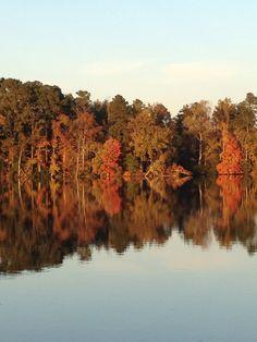 Pretty Fall Day on Lake Prince....Suffolk, Va
