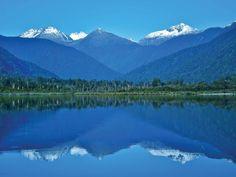 Pasar del mar a la montaña es fácil en Nueva Zelanda.
