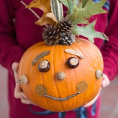 How to Make a Nature Pumpkin