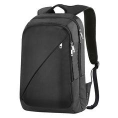 """REYLEO Sac à dos pour Ordinateur portable 14,1"""" Sac à dos d'affaires Business backpack Sac à dos ordinateur Homme / Femme 19 L Noir: Amazon.fr: Informatique"""