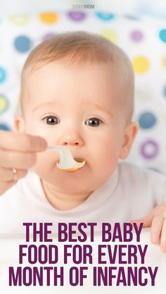 11 Baby Food Recipes for Your Baby to Smash All Over His Face - Baby Products Baby Bullet Recipes, Baby Food Recipes, Baby Eating, Homemade Baby Foods, Baby Led Weaning, Toddler Meals, Toddler Food, Everything Baby, Baby Time