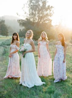 PPS Couture Bridesmaid Dresses | Jose Villa Photography | Bridal Musings Wedding Blog