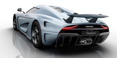 The Koenigsegg Regera has 1500 hp and no transmission