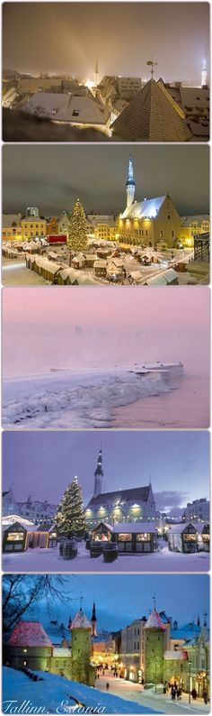 Estonia.  One of the places on my next trip, but I won't be seeing it in the Wintertime.