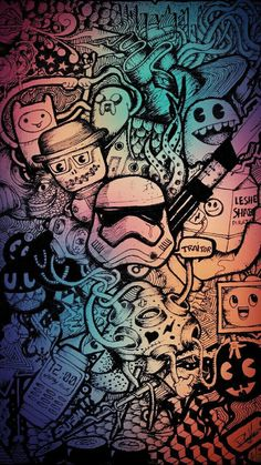 Graffiti Wallpaper für Mobile - lo que me gusta - News Marvel Wallpaper, Galaxy Wallpaper, Cartoon Wallpaper, Cool Wallpaper, Mobile Wallpaper, Wallpaper Backgrounds, Colorful Backgrounds, Screen Wallpaper, Graffiti Wallpaper Iphone
