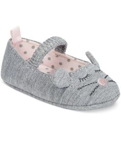 First Impressions Baby Girls' Mouse Ballet Flats, Only at Macy's