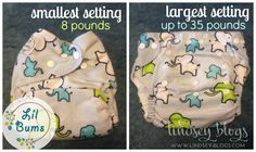 LilBums Sizing Collage