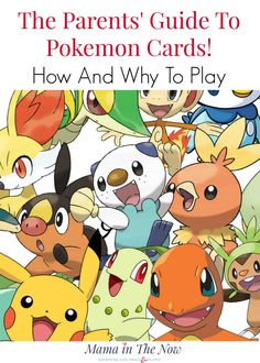 The ultimate guide for parents and kids to learn how to collect and play with Pokemon cards. The benefits of Pokemon explained.