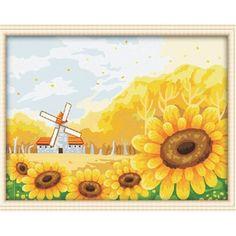 #paintbynumber #kit #easy #paint #sunshine #sunflower #Holland#fresh #sunny #happy #homedecor #home #painter #boring #can #paint
