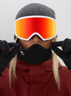 46ac510a04ed Women s Anon Deringer Goggle + Spare Lens + MFI Face Mask. Snowboard Goggles