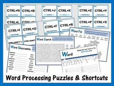 Microsoft Word & Keyboard Worksheets Bundle – Updated 2018 Music Lessons For Kids, Piano Lessons, Teaching Science, Teaching Resources, Teaching Ideas, Keyboard Lessons, Interactive Board, Coding For Kids, Microsoft Word