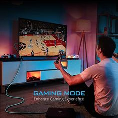The World's First Fiber Optics HDMI Gaming RGB Light – Gameller   Gaming Gear Mode Games, Hdmi Cables, Gaming Setup, Above And Beyond, Fiber Optic, First World, Digital